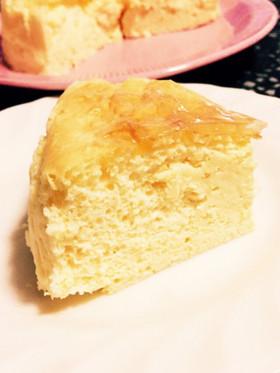 糖質制限◆ふわとろ濃厚スフレチーズケーキ