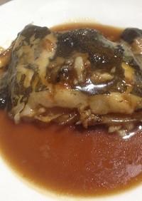 【低塩分】ナメタガレイの煮つけ