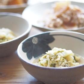 白菜のごま煮