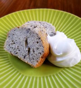 簡単!HMで作る黒ごまのパウンドケーキ