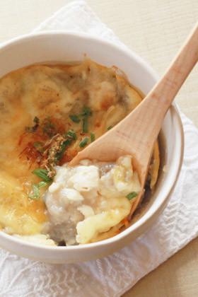 【離乳食後期】魚と山芋のトロトロ焼き
