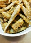 レシピ1超簡単❗ごぼうの甘辛和え。