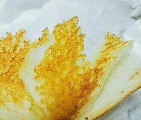 魚焼きグリルでもっちりトースト