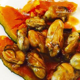 牡蠣とかぼちゃのオイスター炒め☆風邪予防