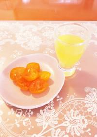 酵素ジュース(金柑、柚子)
