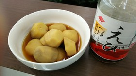 里芋のえびつゆ煮