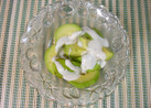 亜麻仁油のアボカドサラダ