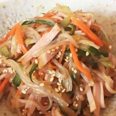 作り置き☆しらたきの中華風サラダ