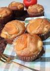 柿の メープルクリームチーズマフィン