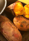 スキレットで安納芋の焼き芋♡