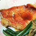 フライパンで!簡単冷凍赤魚の煮付け♪