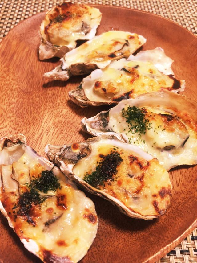簡単☆殻付き牡蠣グラタン