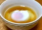 レンジで1分☆温泉卵(味付)