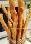 イタリアのスナック グリッシーニを酵母で