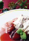 あんずと苺のフロマージュブラン