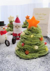離乳食♡サツマイモdeクリスマスツリー