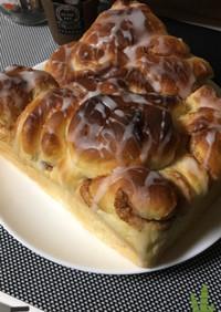 シナモンロール☆ちぎりパン