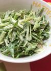 MUJIカフェ風◎豚肉×水菜サラダ