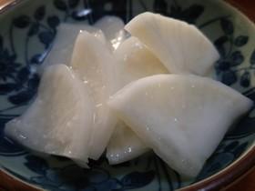ヨーグルト&塩麹de大根の漬け物