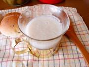ヨーグルティアで作る、炊いたご飯で甘酒♪の写真