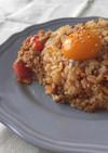簡単!納豆とキムチとツナのチャーハン