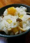栗の甘露煮で栗ごはん ☆ご飯の味濃い目☆