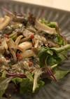 木の子サラダ生牡蠣ドレッシング