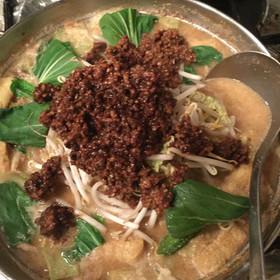 簡単本格★3度美味しいごま坦々鍋 鍋つゆ