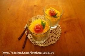 簡単♪生ハムのバラでカップちらし寿司