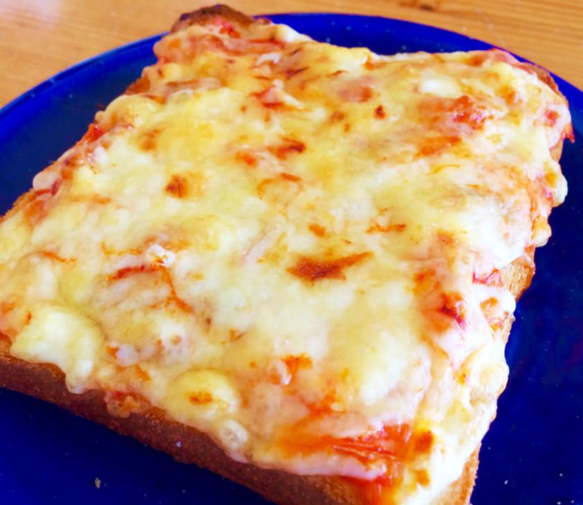 絶品!簡単こくうまキムチーズトースト♪