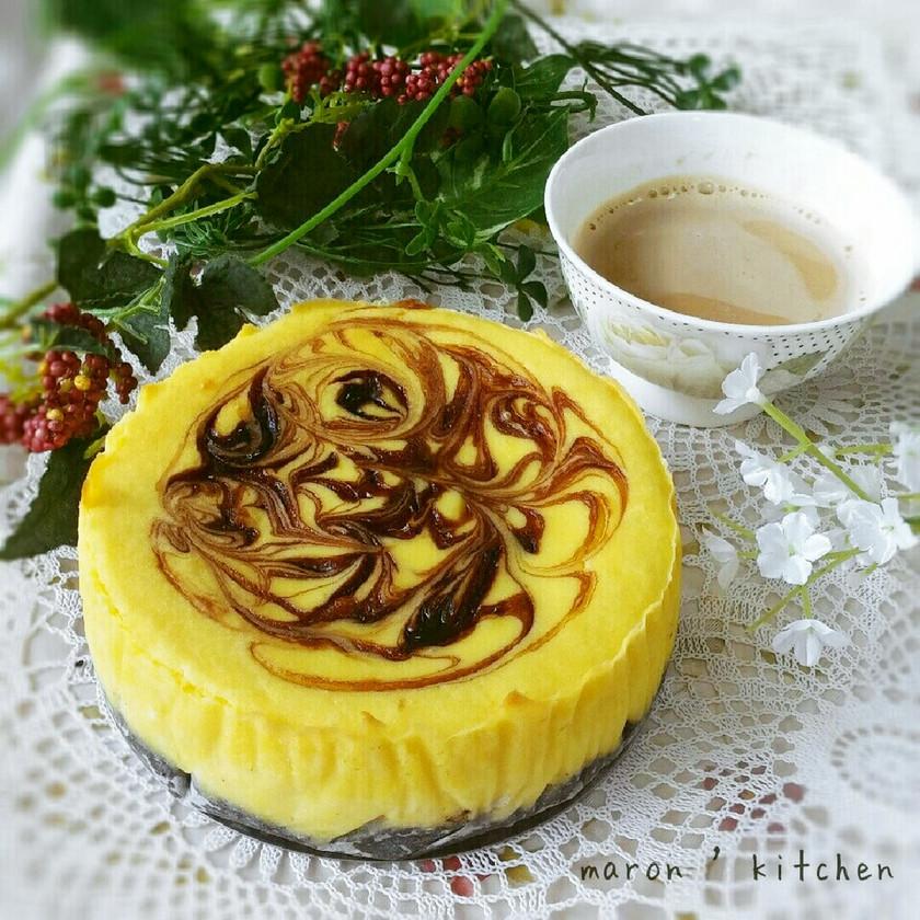 秋の味覚♥さつまいものチーズケーキ