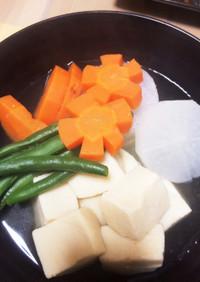 超簡単!高野豆腐の含め煮