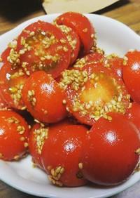 トマトのごま和え