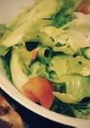 昔なつかし給食のサラダ
