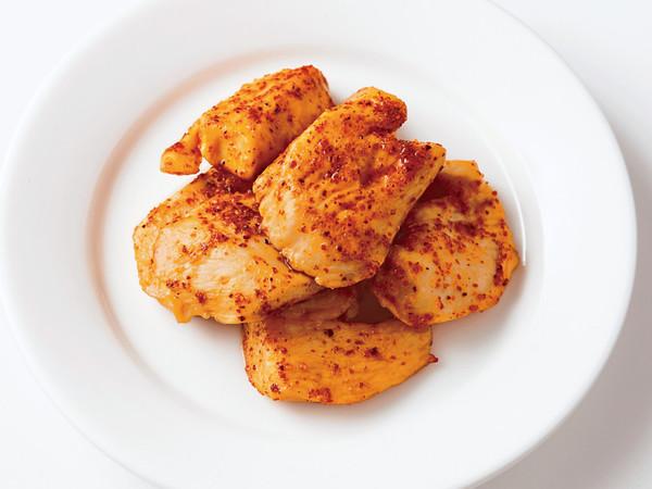 鶏胸肉のピリ辛照り焼き