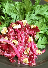 ビーツとキヌアの赤い健康サラダ