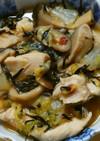 簡単!和食*ひじきと白菜 鶏ささみの煮物