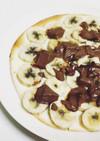 簡単☆チョコバナナピザ☆デザートピザ