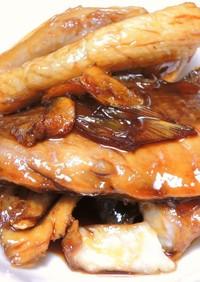 すき焼きのタレで簡単! 鰤のアラ煮!