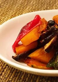 野菜のロースト甘酢マリネ
