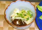 長芋ともずくのネバネバ和え★わさび醤油で