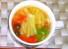 白菜の中華スープ★春雨を入れてヘルシー♪