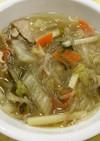 豚肉と白菜のスープ