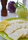 トルコ料理☆コールラビのシンプルサラダ