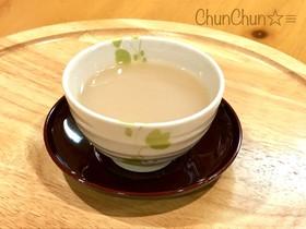 超簡単☆甘酒の麦茶割り♬