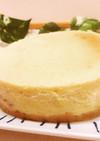 簡単♪すぐに出来るチーズケーキ