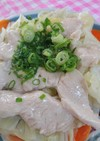 簡単。蒸し料理。鶏胸肉とキャベツ