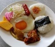 朝ご飯5分ワンプレート☝簡単朝食メニューの写真