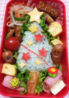 キャラ弁☆簡単☆クリスマスツリーのお弁当