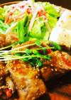 簡単 肉巻き野菜の甘辛ショウガ焼き